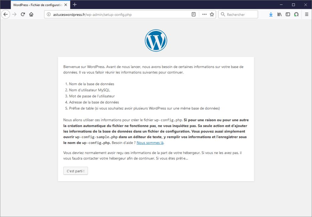 Tutoriel pour installer un site WordPress rapidement et facilement