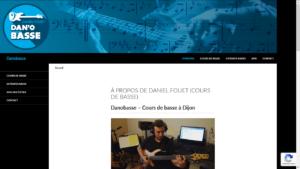 Daniel Fouet donne des cours de basse à Dijon (Côte d'Or)