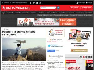 Magazine Sciences Humaines