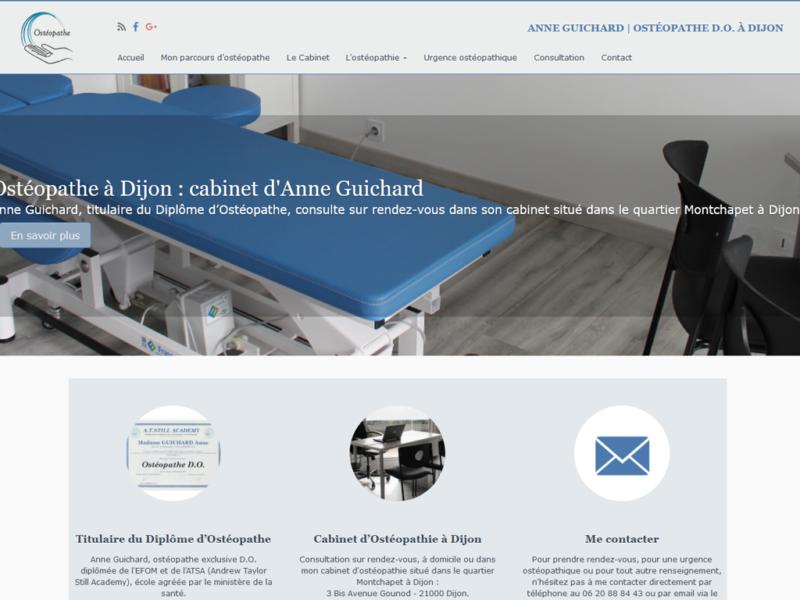 Anne Guichard, ostéo à Dijon (21)