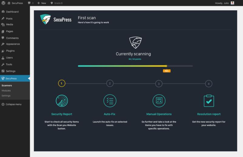 SecuPress, une extension pour renforcer la sécurité de WordPress