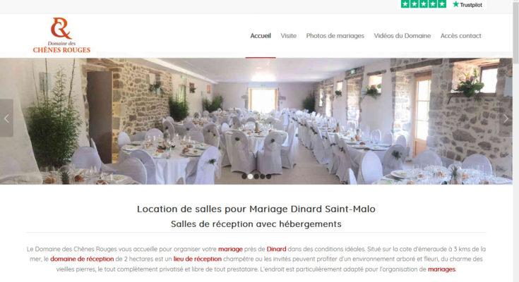 Salle de mariage près de Saint Malo et Dinard