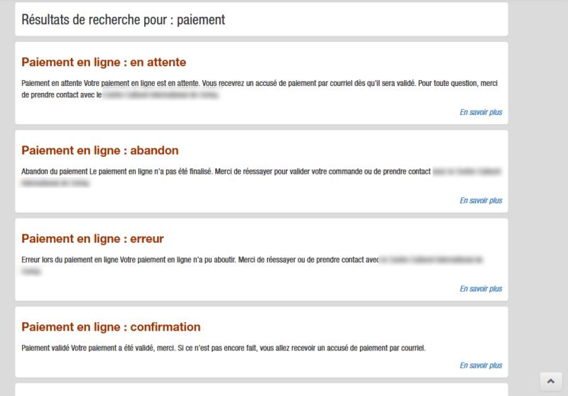 Affichage sans filtre des résultats de la recherche WordPress