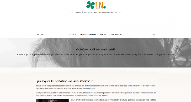 Création de site internet wordpress