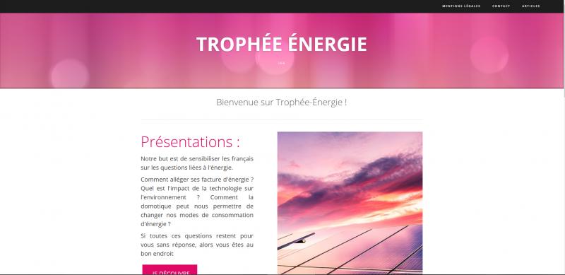 Trophée énergie
