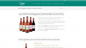 Bières artisanales biologiques produites en Bourgogne entre Troyes (Aube) et Auxerre (Yonne)
