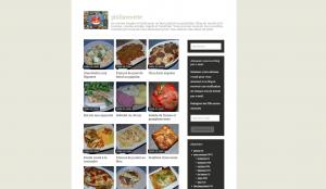 Un site web partageant des recettes de cuisine maison !