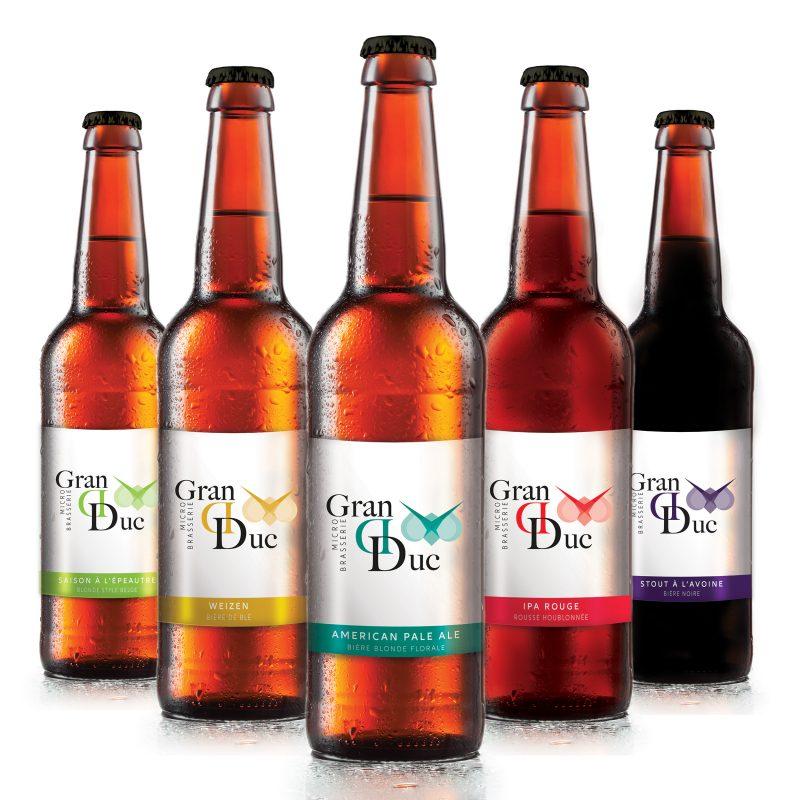 Bières bio artisanales de qualité : bières Grand Duc