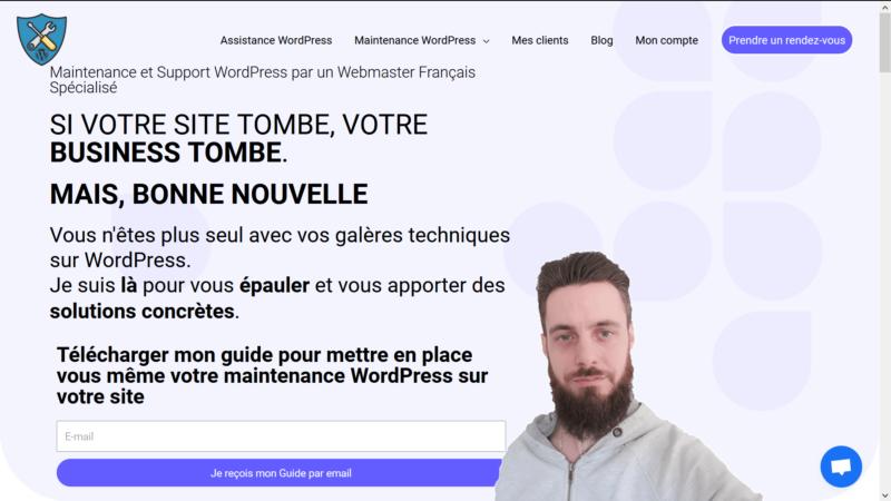 Assistance et maintenance pour WordPress