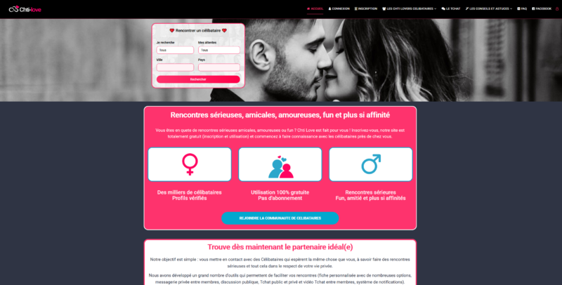 Site de rencontres en France : chti love
