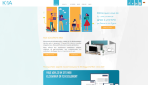 Création rapide de sites web