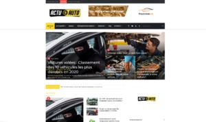 Blog d'actulaités automobile Actuauto.fr