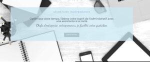 Site eb de Laure COuturier, secrétaire indépendante dans le Var