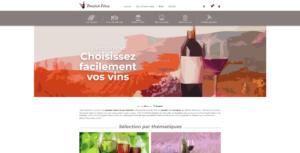 Boutique en ligne de vente de vins : 1envie1vin