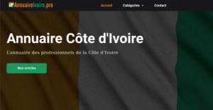 L'annuaire IvoirePro pour la Côte d'Ivoire