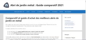 Abri de Jardin Metal : guide et meilleur comparatif de cabanon de jardin