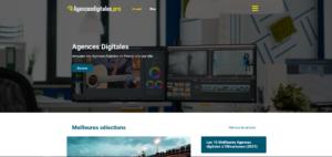 Annuaire des meilleures Agences Digitales en France répertorié ville par ville