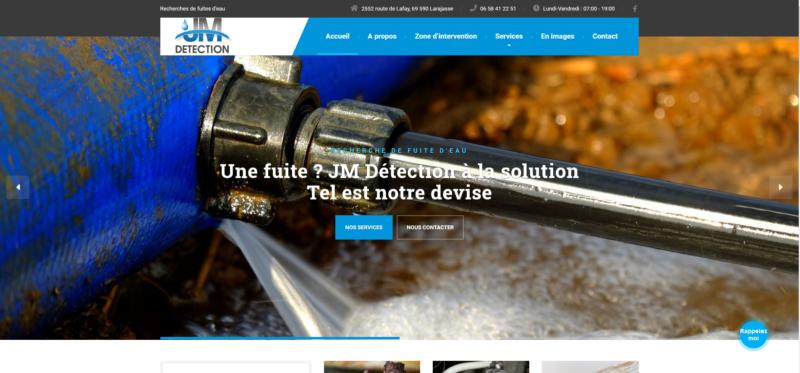 JM Détection, votre spécialiste en recherches de fuites d'eau