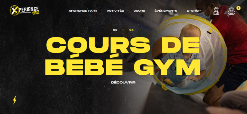 Trampoline park à Mulhouse : Xperience Park sort son site web
