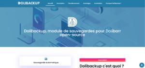 Dolibackup, module de sauvegardes pour Dolibarr open-source