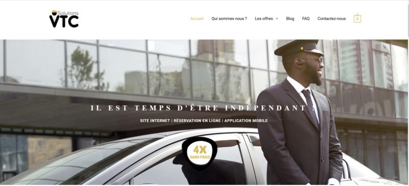 Site internet pour VTC avec Réservation en ligne et App Mobile | Solutions VTC