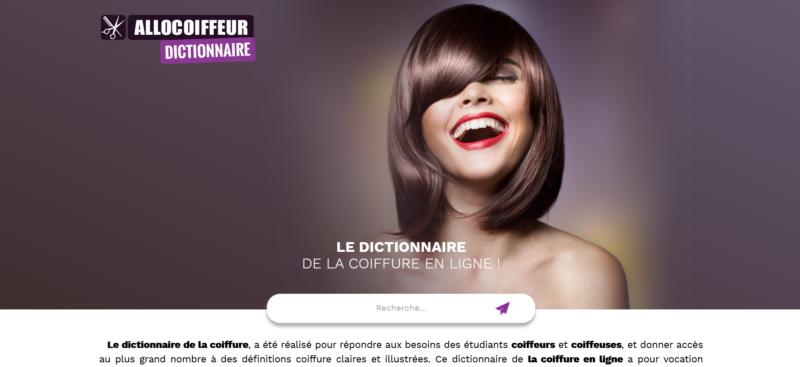 Dictionnaire de la coiffure