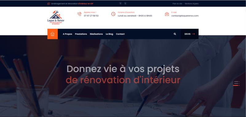 Laque & Renov, Entreprise de bâtiment et rénovation d'intérieur en Ile-de-France